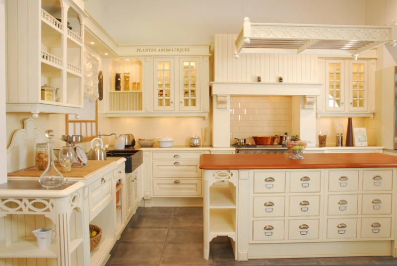 Facade cuisine bois brut meuble de sparation cuisine for Facade cuisine rustique