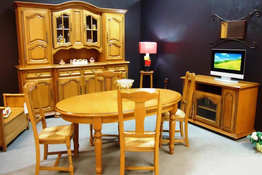 S jour rustiques et styles soci t meubles chambon 63 for Meuble salle a manger fabrication francaise
