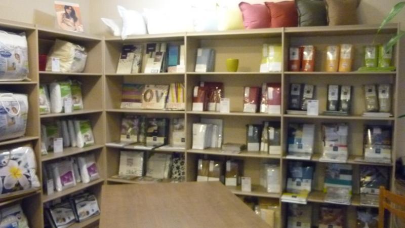 Label 39 literie accessoires soci t meubles chambon 63 clermont ferrand - Linge de maison carrefour ...